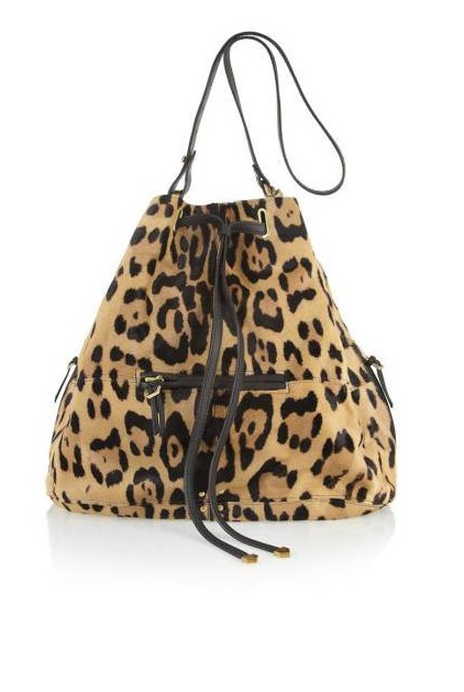 Jérôme Dreyfuss Alain Calf Hair Bucket Bag, $1,900