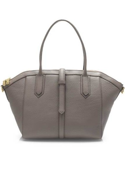 J. Crew Tartine Satchel In Pebbled Leather, $260