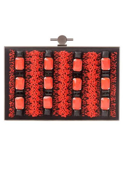 Jason Wu Beaded Brass Clutch, $2,495
