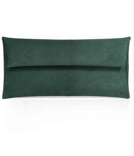 Jil Sander Leather Envelope Clutch, $725