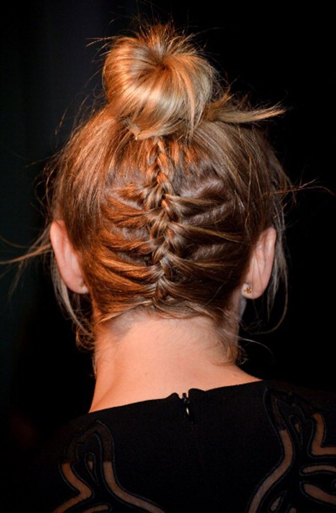 Julianne Hough Hairstyle - Braided bun