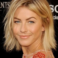 Julianne Hough Hairstyle - Choppy Bob