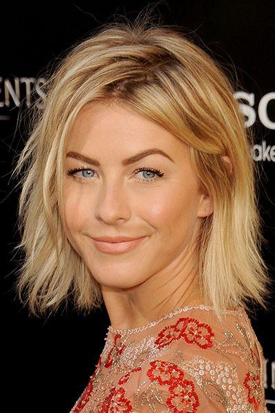 Julianne Hough Hairstyle - Choppy Bob