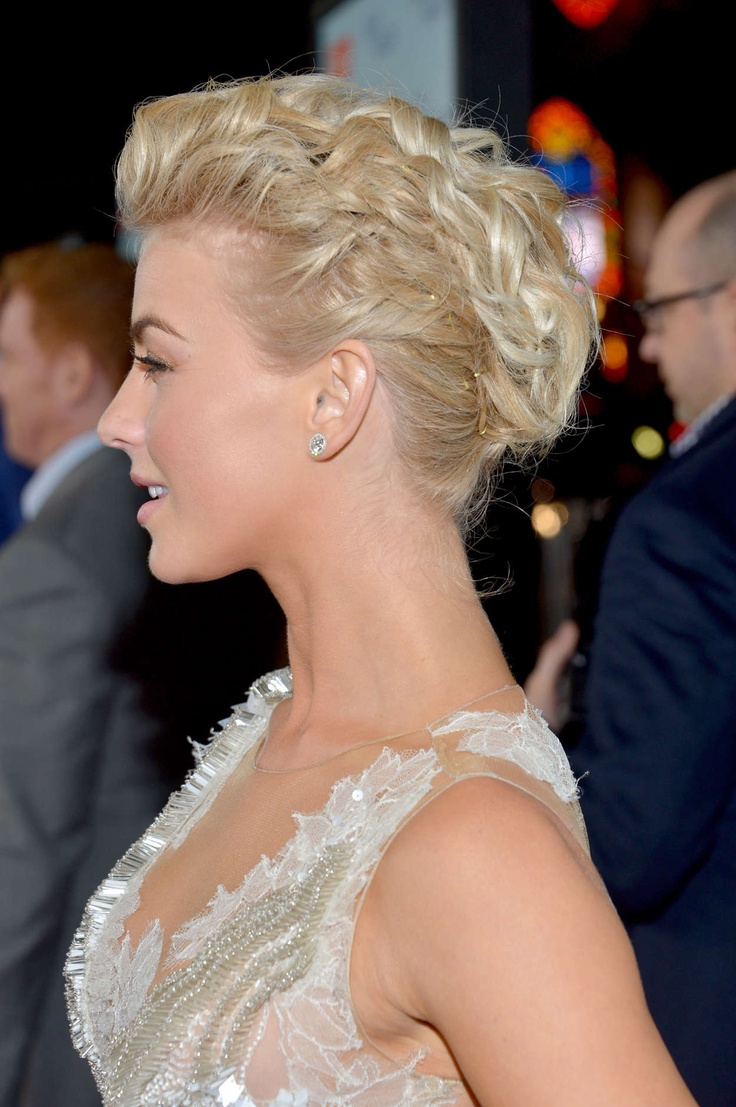 Julianne Hough  25 Most Impressive and Trendy Hairstyles for Your Hair    Julianne Hough Short Hair Updo