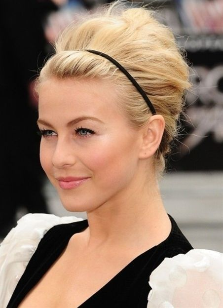 Julianne Hough Hairstyles - Formal Updo for Medium Hair