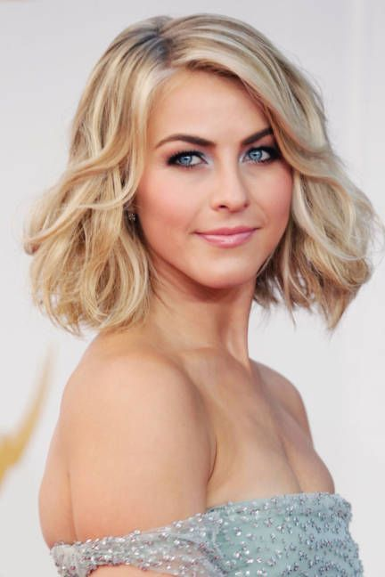 Julianne Hough Hairstyle - Wavy Lob