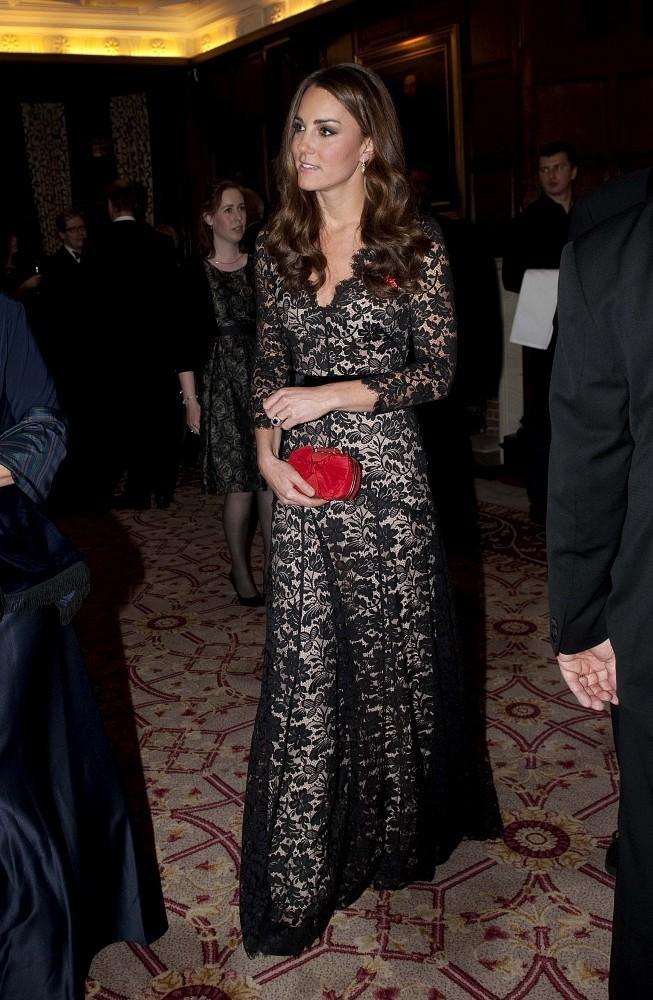 Kate Middleton's Hard Case Clutch