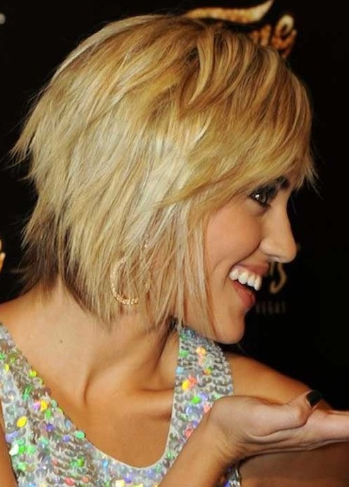 Admirable Layered Razor Cut For 2014 Trendy Short Hairstyle For Women Short Hairstyles Gunalazisus