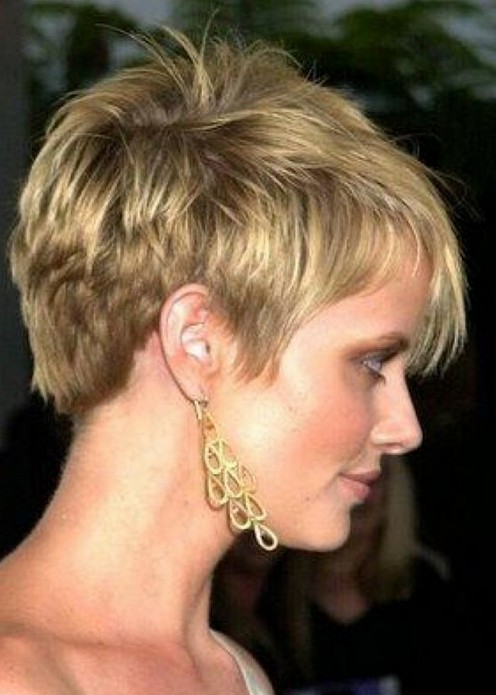 Magnificent 15 Chic Short Hairstyles For Thin Hair You Should Not Miss Short Hairstyles For Black Women Fulllsitofus