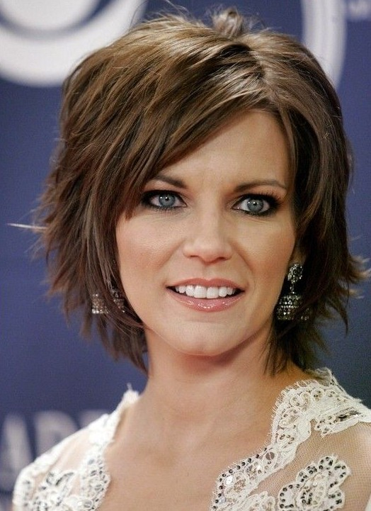 Really Thick Hair Styles Brilliant Layered Short Hairstyle For Thick Hair  Pretty Designs