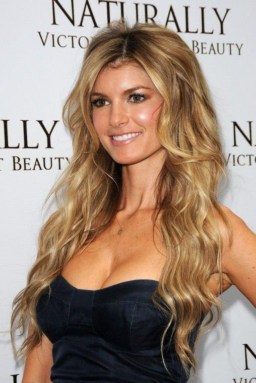 Long Blonde Wavy Marisa Miller Hairstyles