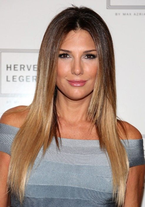 Long Straight Ombre Hairstyles- Daisy Fuentes