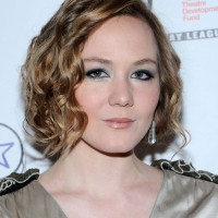 Louisa Krause's Short Curly Hairstyle: Elegant