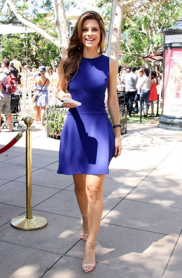 Maria Menounos: Fit-and-flare Cocktail Dress