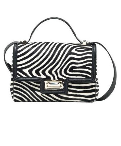 Max Mara Printed Calf-Hair Handbag, $1,150