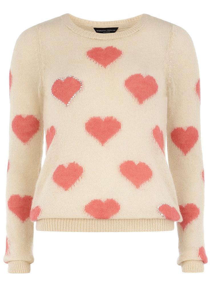 Mini Hearts Sweater