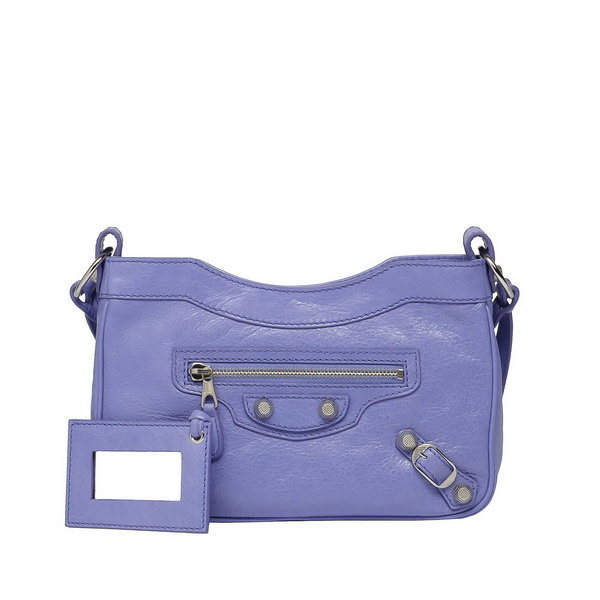 Mini blue handbag
