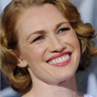 Mireille Enos' Short Curly Hairstyle: Adorable
