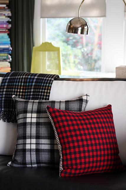 Mix Plaids for Pillows