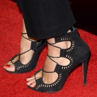 Molly Sims' Strappy Sandals
