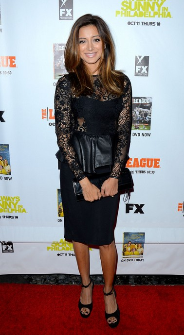 Noureen DeWulf in Her Wedges