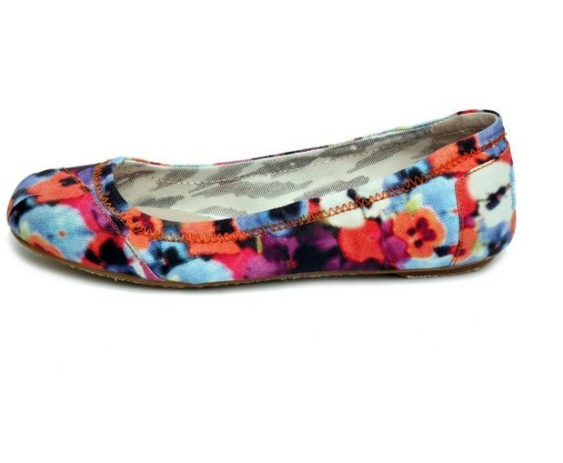 Patterned Pointy Flats-Mixed