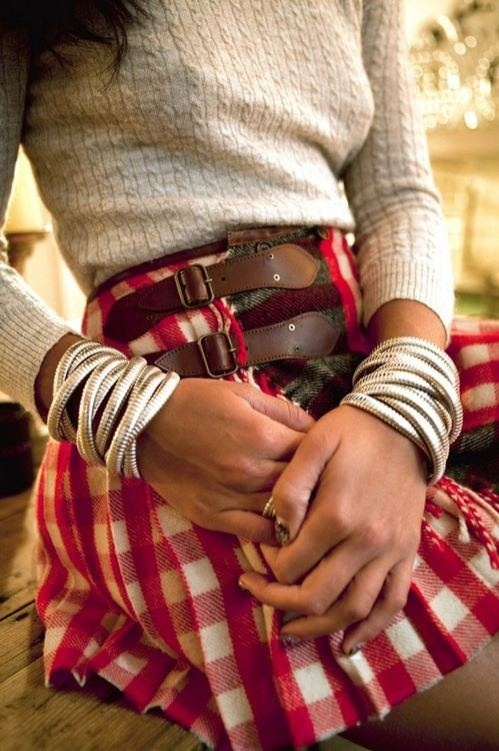 Plaid Skirt