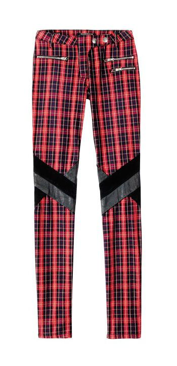 Plaid Trouses