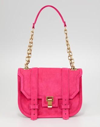 Proenza Schouler PS1 Suede Mini Messenger Bag