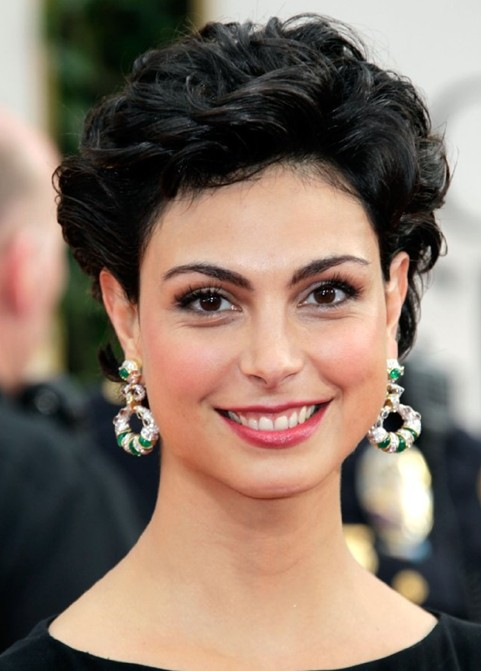 Prom Hairstyels Ideas for 2014: Delightful Black Curly Hairstyle for Women