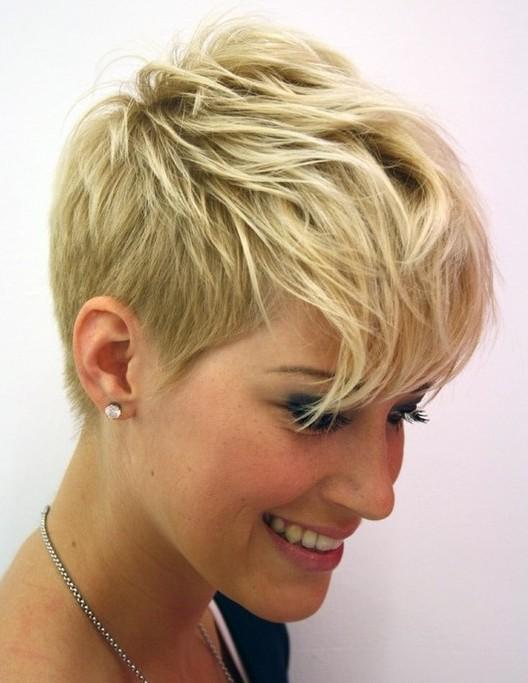 Real Short Pixie Cut for Thin Hair