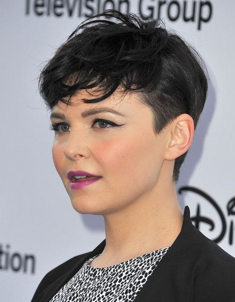 Really Short Hairstyles for Round Faces