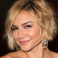 Samaire Armstrong Cute Short Shaggy Hairstyle 2014