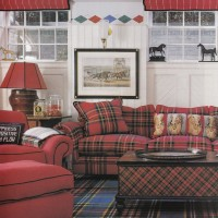 Scottish Plaid Home Decoration Design