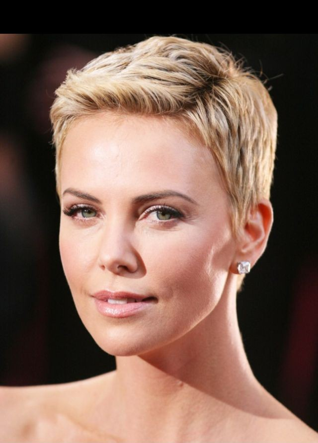 Short Blond Haircut