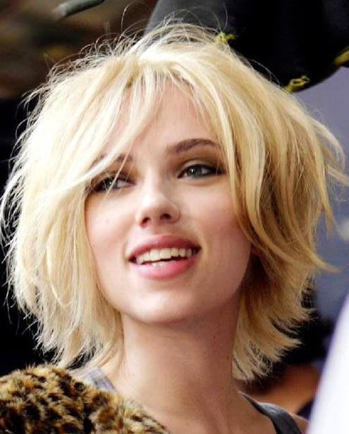Short Blonde Haircuts 2014 - Easy Hairstyle