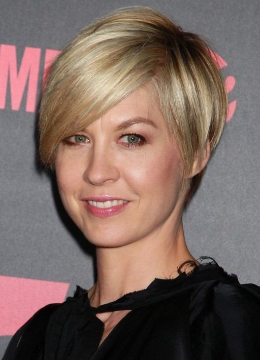 Short Hairstyle with Bangs for Thin Hair