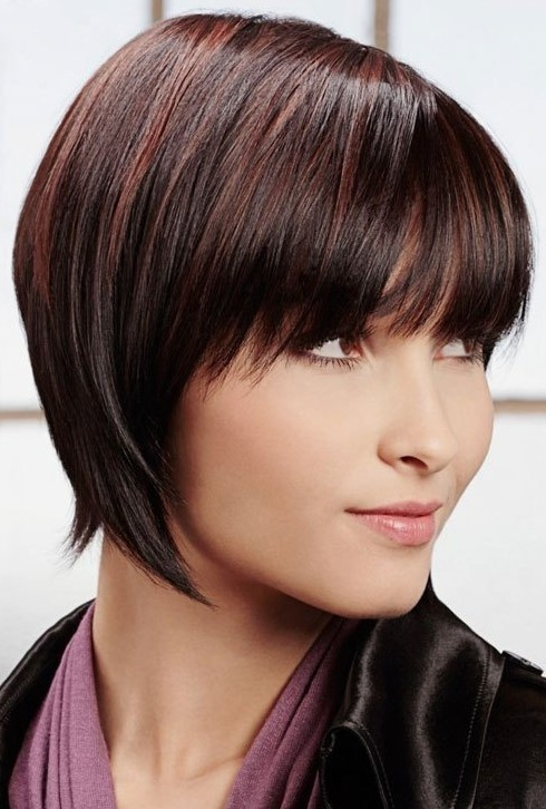 Peachy 10 Straight Hairstyles For Short Hair Short Haircuts For 2014 Short Hairstyles Gunalazisus
