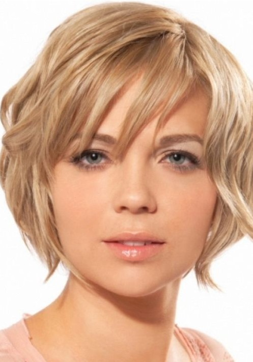 Short Wavy Hairstyles for 2014 - Sleek Short Hair