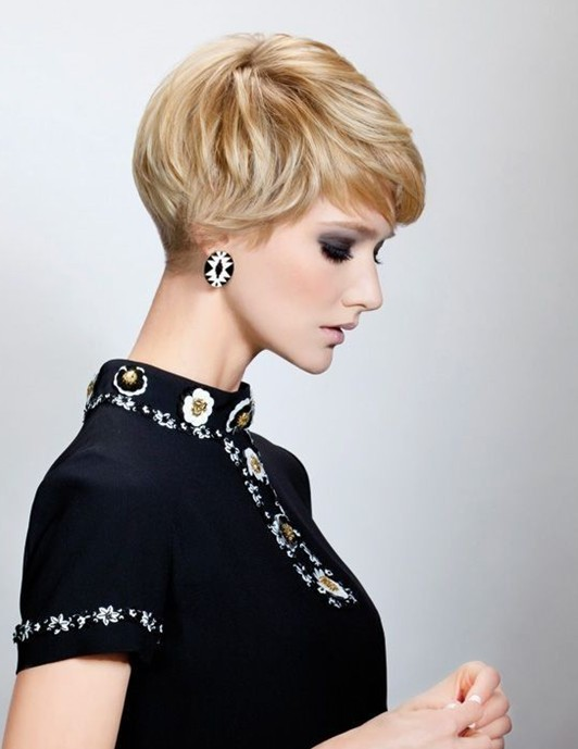 Side View Cute Short Pixie Cut Pretty Designs