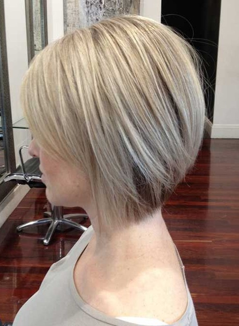 Side View of Short Bob Hairstyle