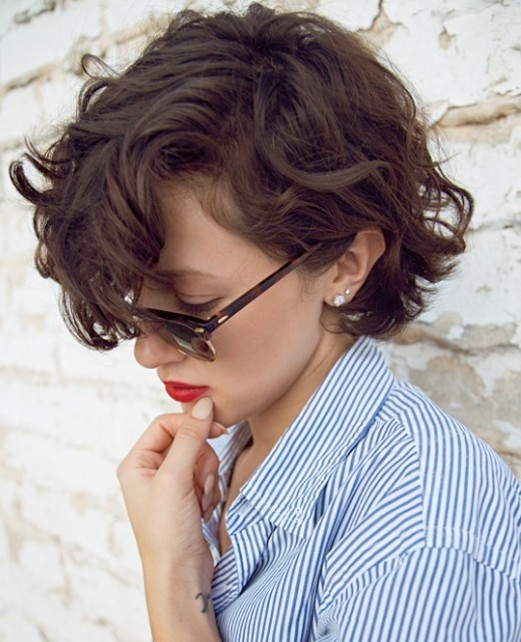 Simple Easy Daily Curly Hairstyle for 2014