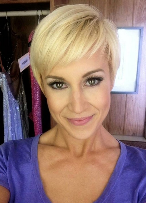 Simple Easy Daily Pixie Cut for 2014: Cute Pixie With Bangs