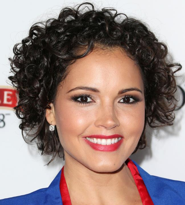 Short Hair further Hairstyles For Mixed Girls With Curly Hair ...