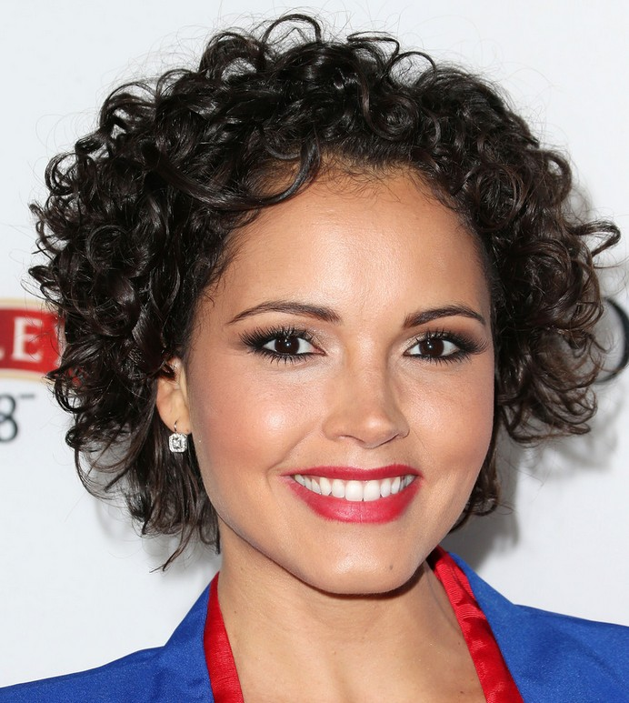 Susie Castillo's Short Curls-Cute
