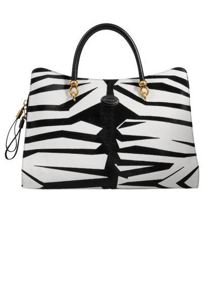 Tod's Printed Pony-Hair Handbag, $2,665