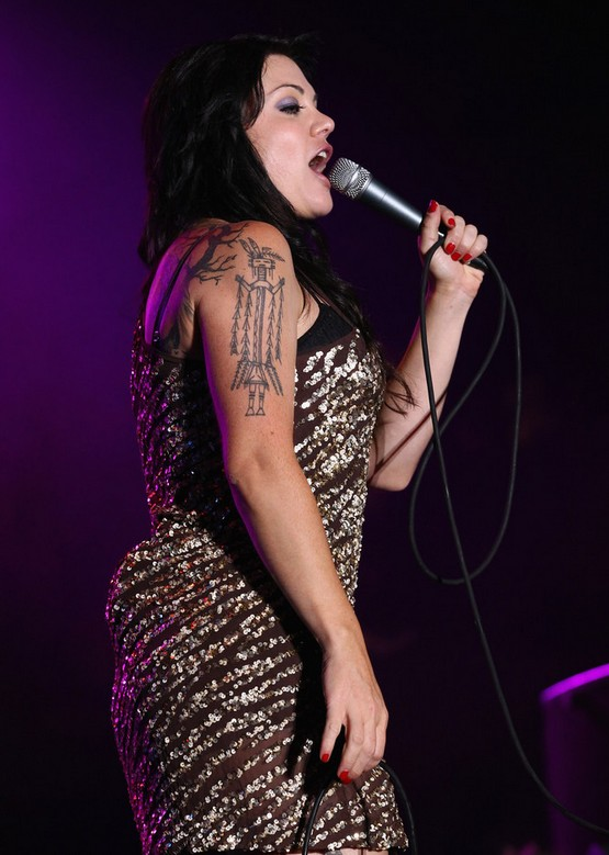 Vanessa Amorosi's Tattoos