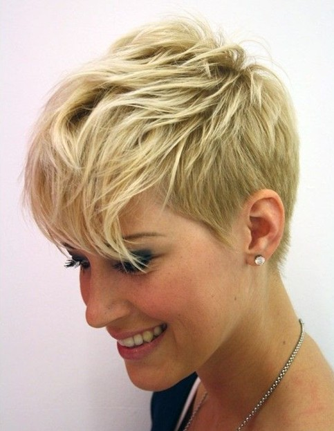Admirable 10 Very Short Haircuts For 2014 Really Cute Short Hair Pretty Short Hairstyles Gunalazisus