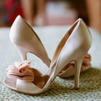 Wedding Bow-adorned Pumps