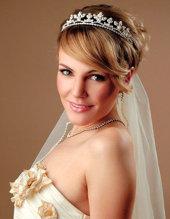 Wedding Hairstyles for Short Hair 2014 - Pretty Designs